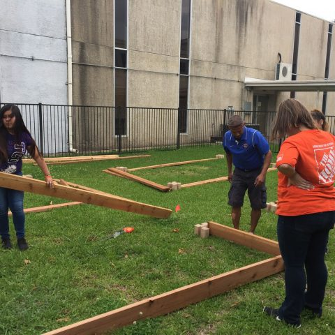 Universal Academy Irving - Home Depot - Beautification Day